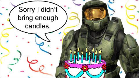 Геймерское поздравление с днем рождения